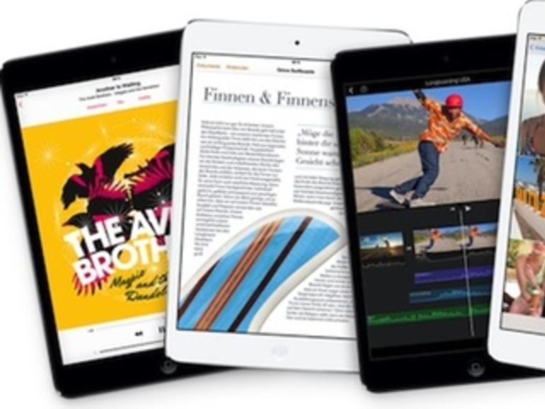 """Tablet-Displays im Vergleich: Retina iPad mini das Schlusslicht, """"Technologie von gestern"""""""