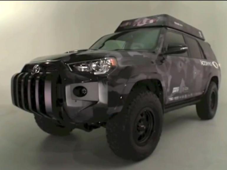 Netzfundstück: iPad steuert Toyota SUV