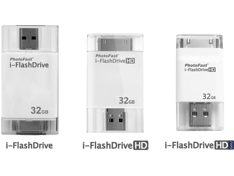 i-FlashDrive ermöglicht direkten Datentransfer zwischen iPhone und Android-Smartphone