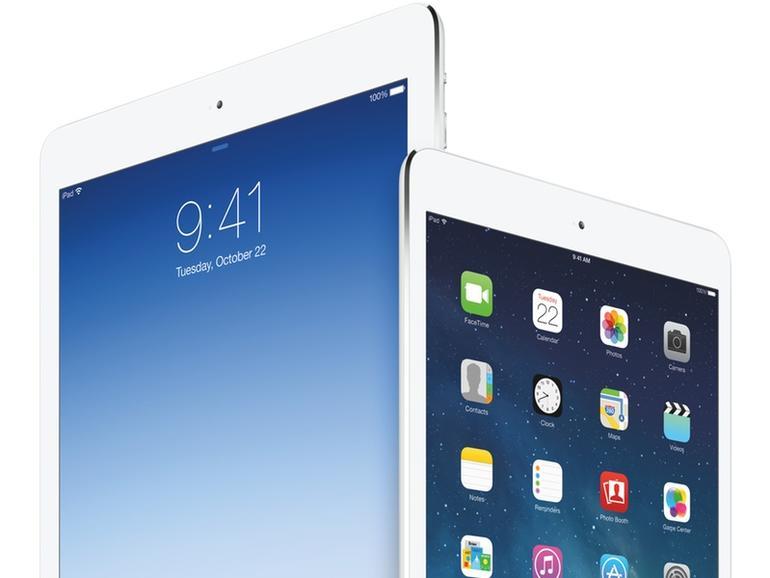 iOS 7.1 unterstützt auch zwei unbekannte iPads