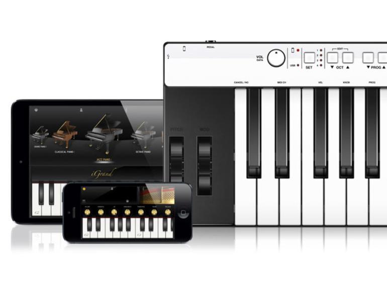 IK Multimedia iRig Keys Pro - Midi Keyboard für iOS, Mac und PC