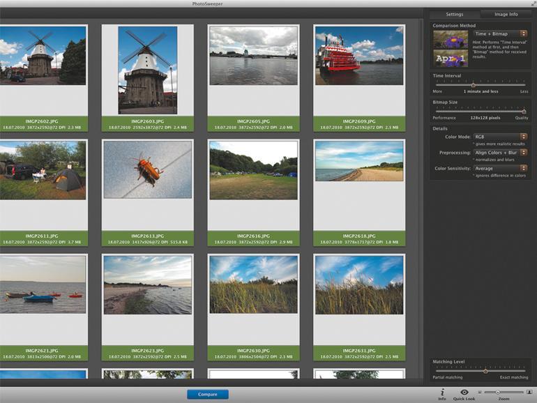 Doppelte Fotos auf dem Mac aufspüren