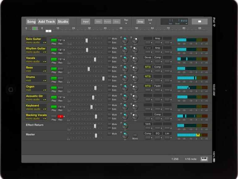 Bremmers Audio Design MultitrackStudio - DAW für das iPad