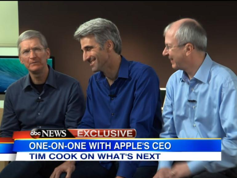Tim Cook spricht über Apples Geheimhaltung, NSA und Saphirglas