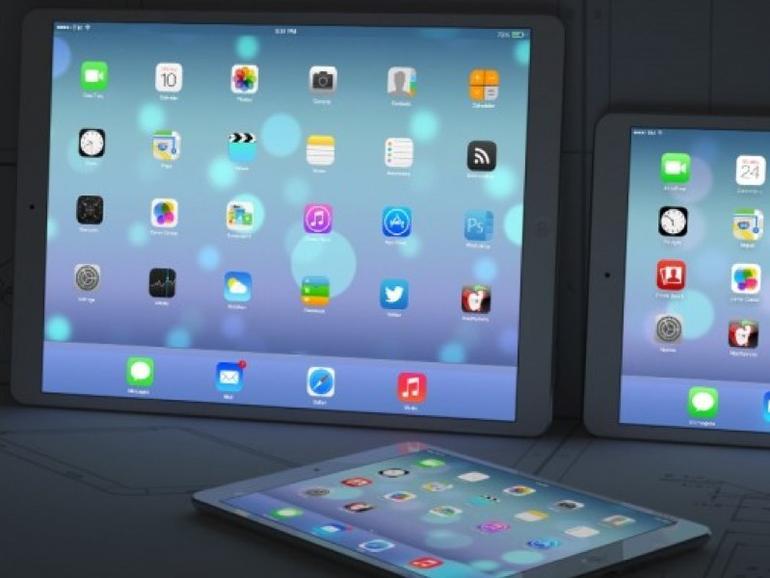 """iPad Pro"": Verkaufsstart eines Apple-Tablets mit 12,9-Zoll-Display im Spätsommer?"