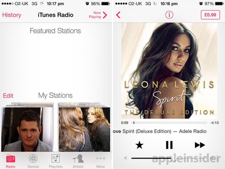 iTunes Radio: Erste Anzeichen für Verfügbarkeit außerhalb der USA