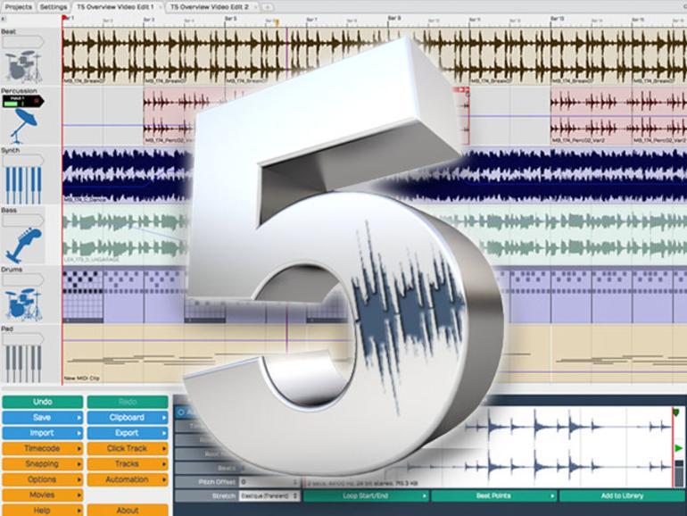 TSC Tracktion 5 - DAW für Windows, OS X und Linux