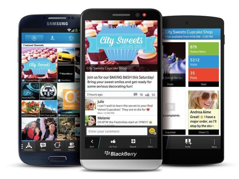 Telefonie und mehr: Neue Funktionen für die BlackBerry Messenger-App