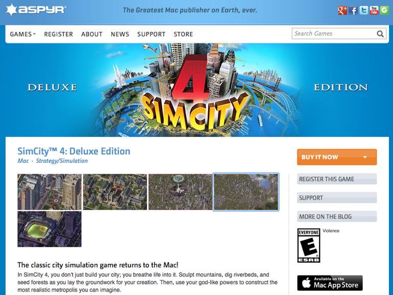 SimCity 4 Deluxe für OS X: Die Rückkehr eines Spieleklassikers