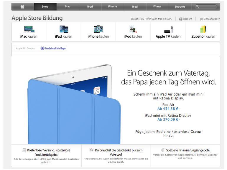 Apple Edu Rabatt Im Store