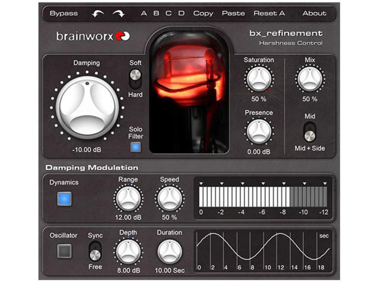 Brainworx bx_refinement - Enhancer Plug-in