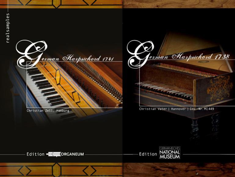 Harpsichord 1738 und 1741 - Sample-Libraries