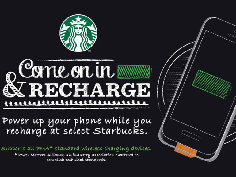 Teurer Kaffee & gratis Strom: Starbucks lockt zukünftig mit iPhone-Ladestationen
