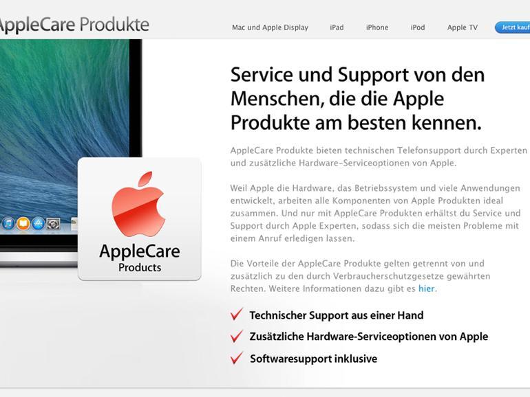 Apple Care 2014: Viele Verbesserungen in Vorbereitung
