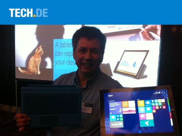 IFA Preview: Microsoft Surface Pro 3 trifft auf Oral-B-App-Zahnbürste