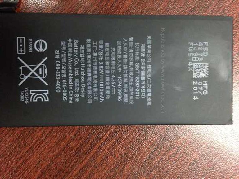 Ist das der Akku des iPhone 6