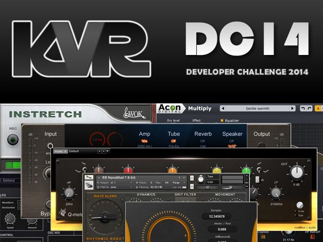 KVR Developer Challenge 2014 – Das Voting hat begonnen
