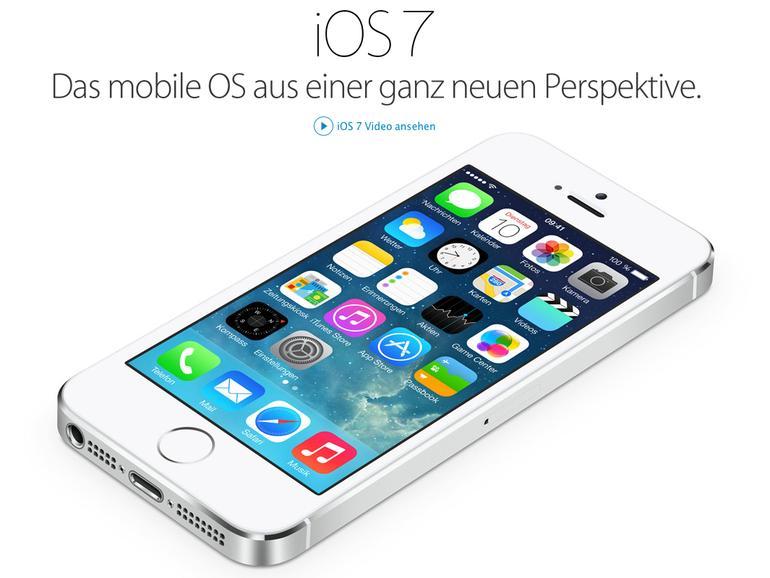 iOS 7 nun auf 87 Prozent aller aktiven Geräte