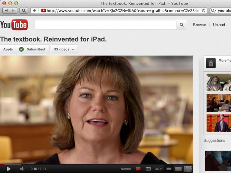 Alternative: YouTube HTML5