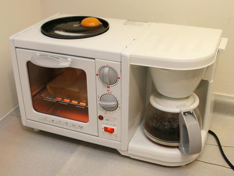Kaffeemaschinentoaster