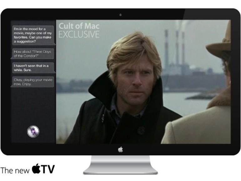 TV: Kommender Apple-Fernseher mit Siri, iSight und FaceTime?