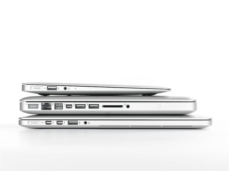 MacBooks im Vergleich