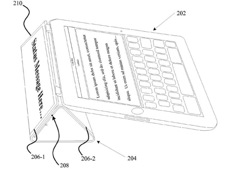 Apple erhält Patent auf iPad Smart Cover mit integriertem Display