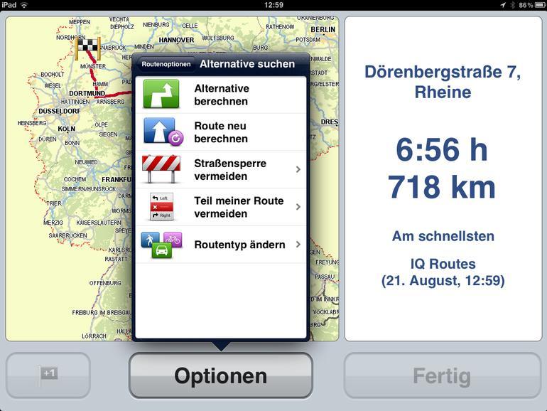 Update für TomTom: 1.11 bringt Foursquare-Integration und mehr