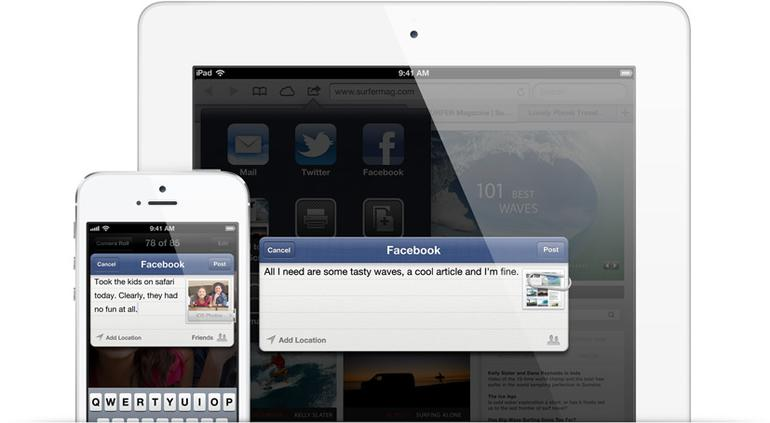 4. Systemweite Facebook-Integration