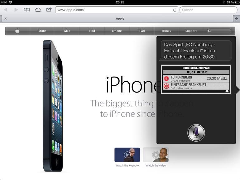 10. Neue Sprachbefehle für Siri