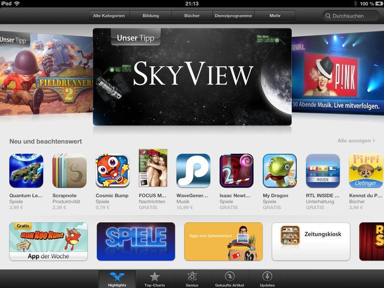 App Store Highlights
