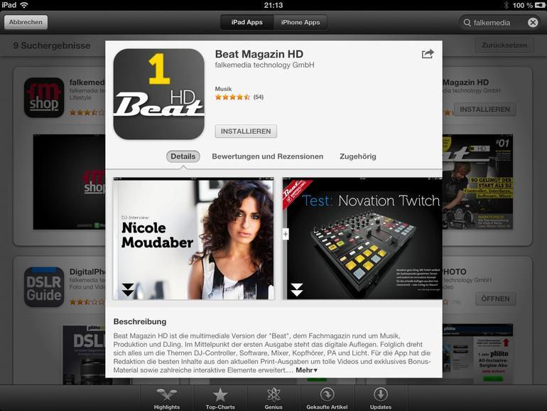 App-Vorschau
