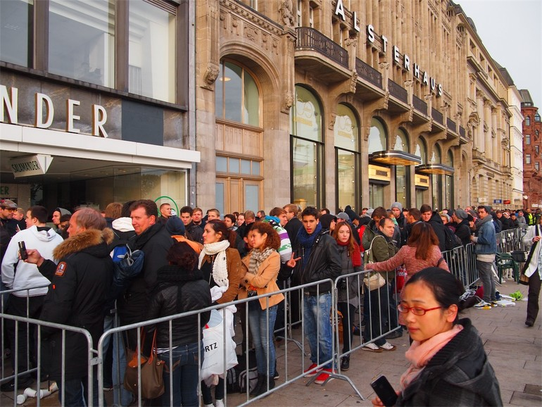 iPhone 5: Es ist da – Impressionen vor und vom Verkaufsstart
