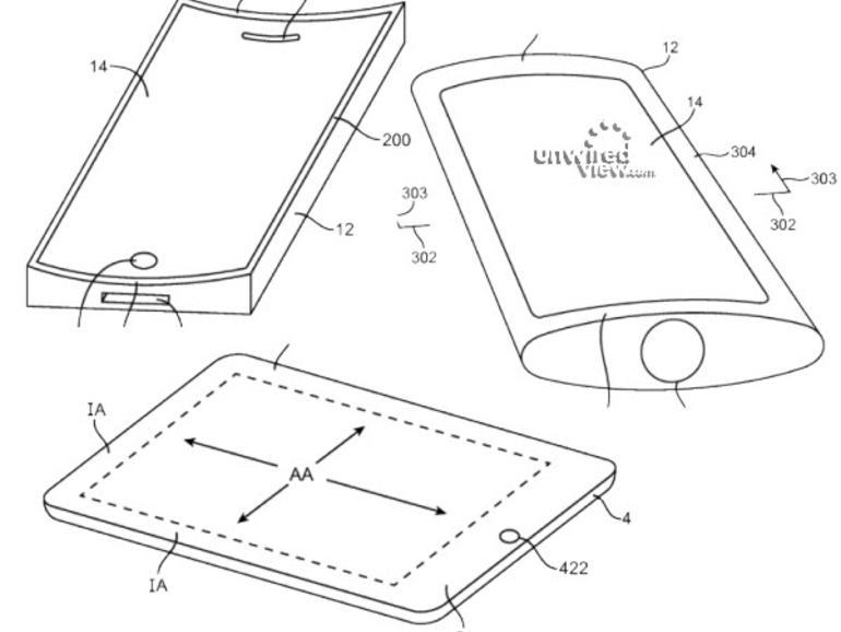 Neue Apple-Patentanträge: Flexible Display, Surround-Sound und mehr