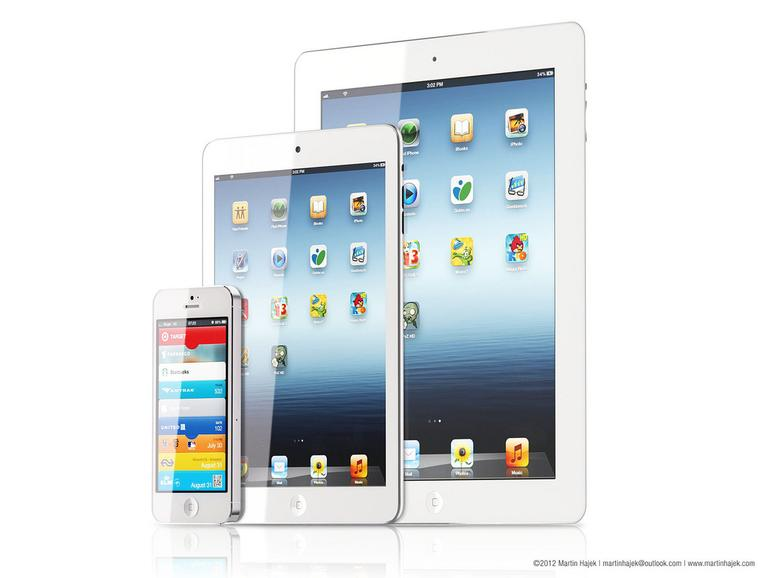 """Neue Mock-ups: So sexy ist das """"iPad mini"""""""