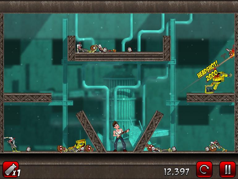 4. Stupid Zombies 2 (iOS-Universal; 0,89 Euro)