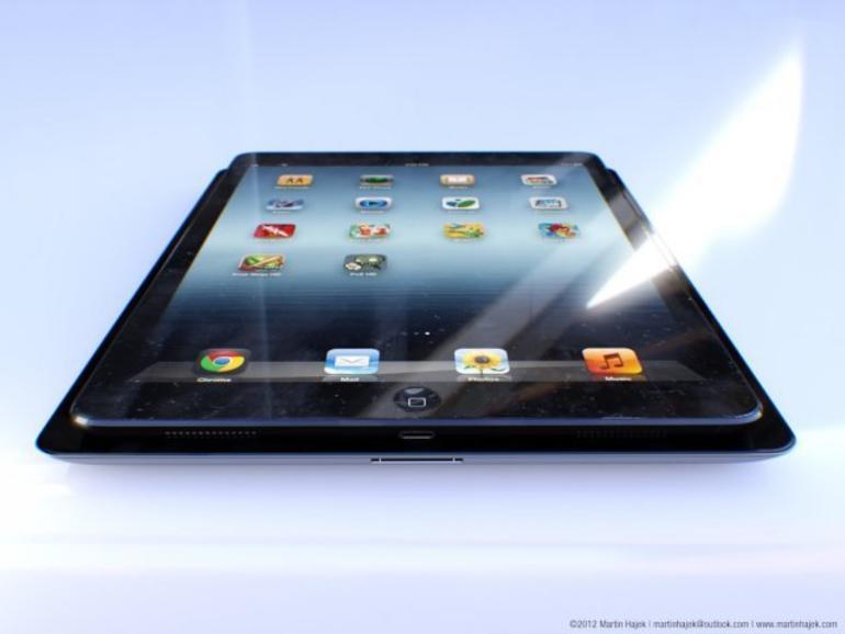 Dünnerer Rahmen: So könnte das iPad 5 aussehen