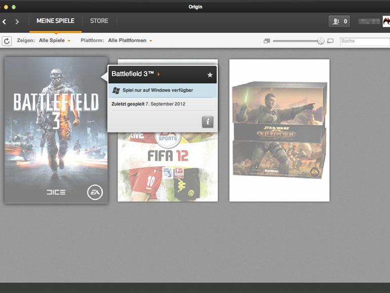 Konkurrenz für Steam: EA veröffentlicht Origin für den Mac