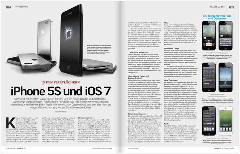 In den Startlöchern: iPhone 5S und iOS7