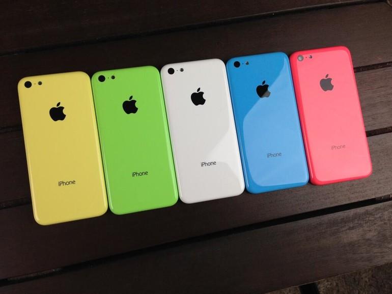 iPhone 5C: Alle Farben