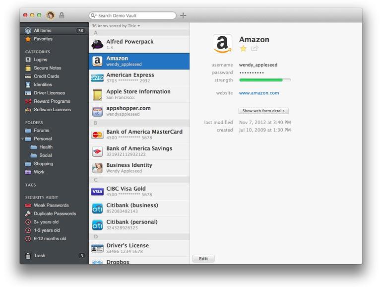 iCloud-Sync, Tags und iMessage-Anbindung: 1Password 4 für Mac ab sofort verfügbar