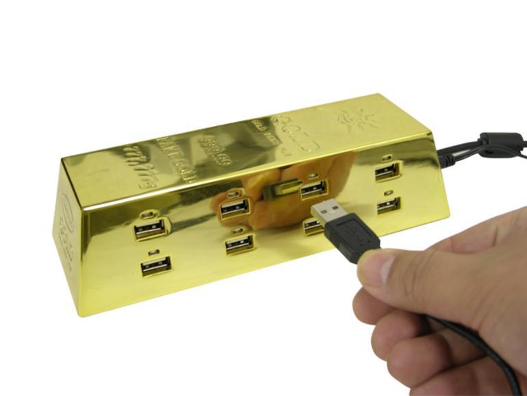 Thanko 8-Port USB-Hub