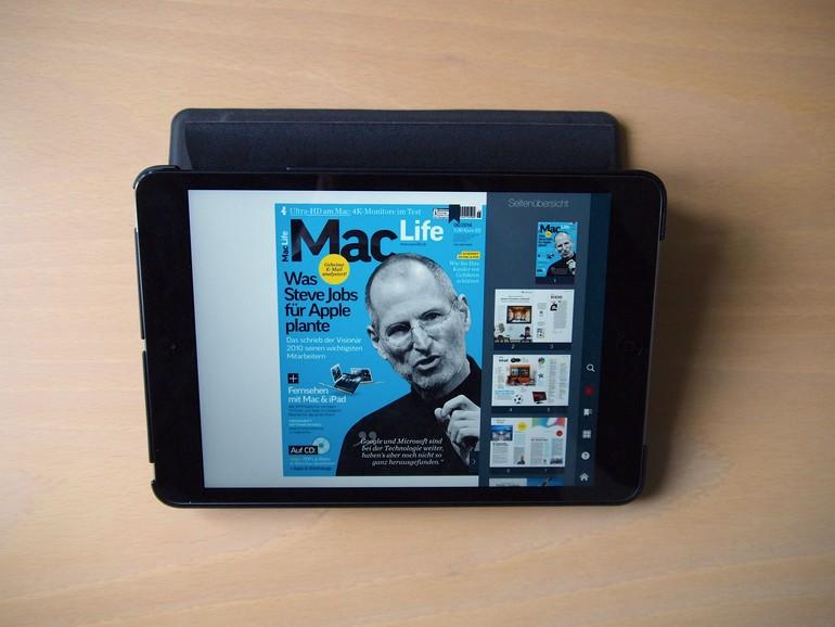 Im Test: Booqpad mini - das iPad-mini-Case mit Schreibblock