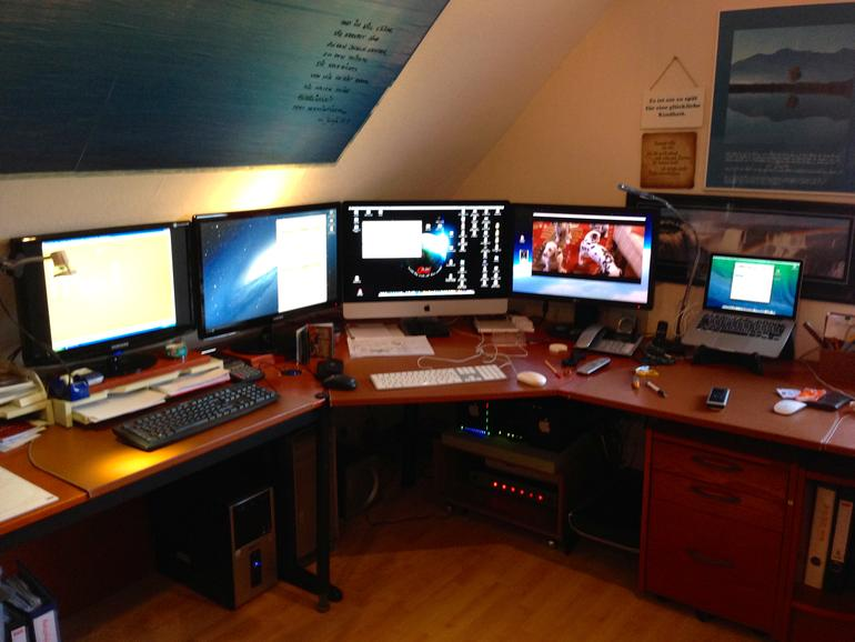 wÖrkstation (mac Pro, iMac, MacBook Pro, iPhoto5, 2x12 TB RaidSystem