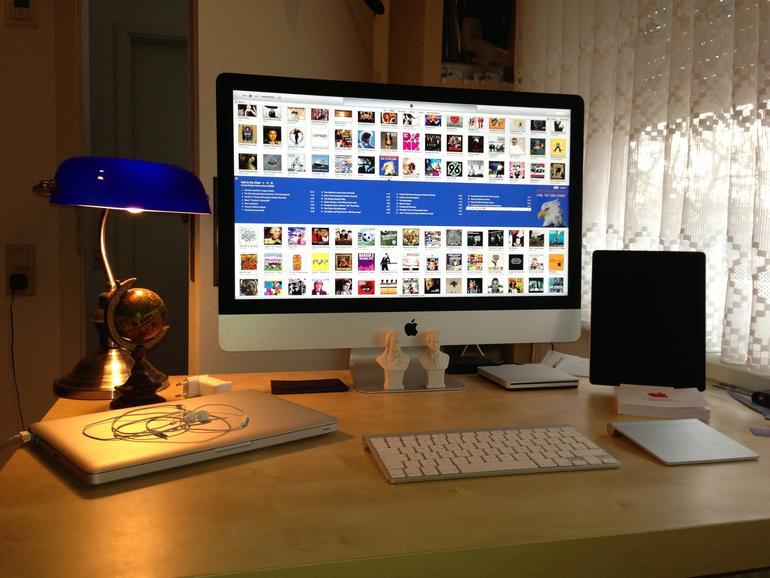 Update mit dem gestern gelieferten iMac 27