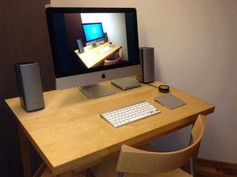 iMac 21,5 mit Bose Companion 20