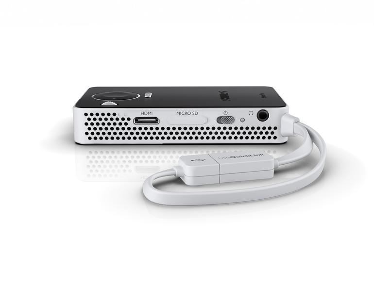 ... kann weitgehend auf Kabel verzichten und eignet sich somit für den mobilen Einsatz.