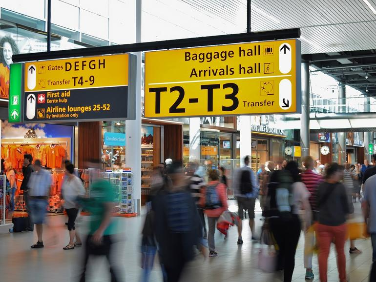 Apple Karten bietet nun Indoor-Karten für weitere Flughäfen an