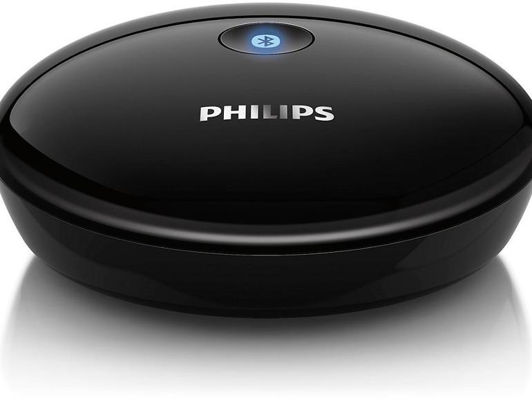philips bluetooth hifi adapter vs airplay musik. Black Bedroom Furniture Sets. Home Design Ideas