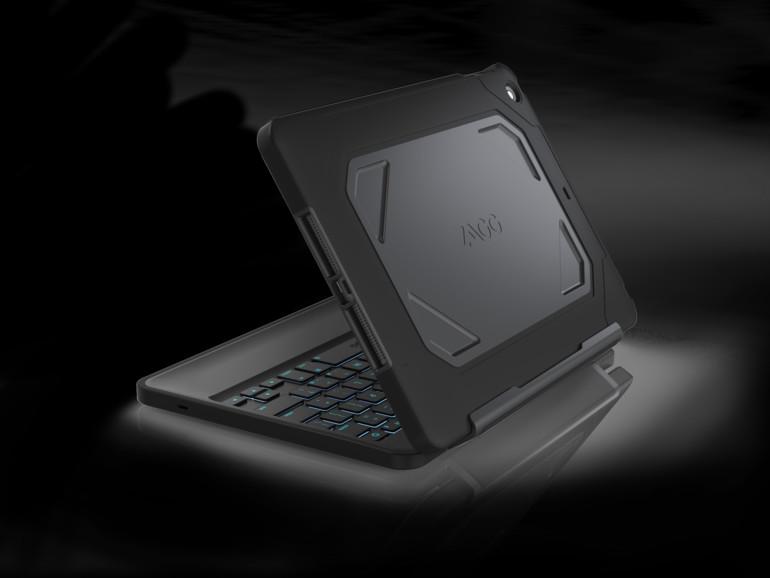 ZAGG Rugged Folio: Solider Rundumschutz samt Tastatur für iPad Air und iPad mini